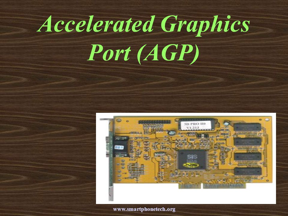 Accelerated Graphics Port (AGP)