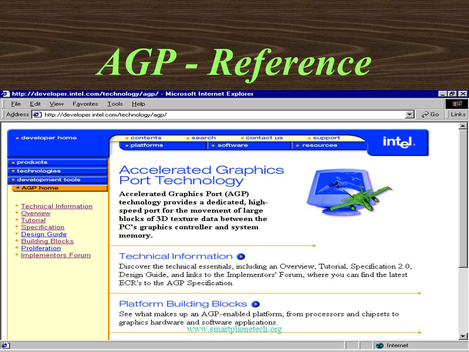AGP - Reference www.smartphonetech.org