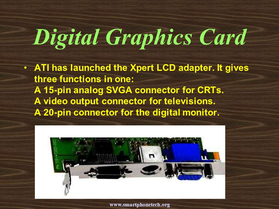 Digital Graphics Card