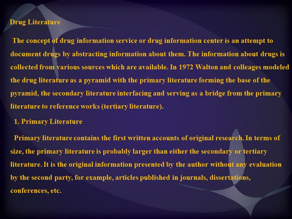 Drug Literature