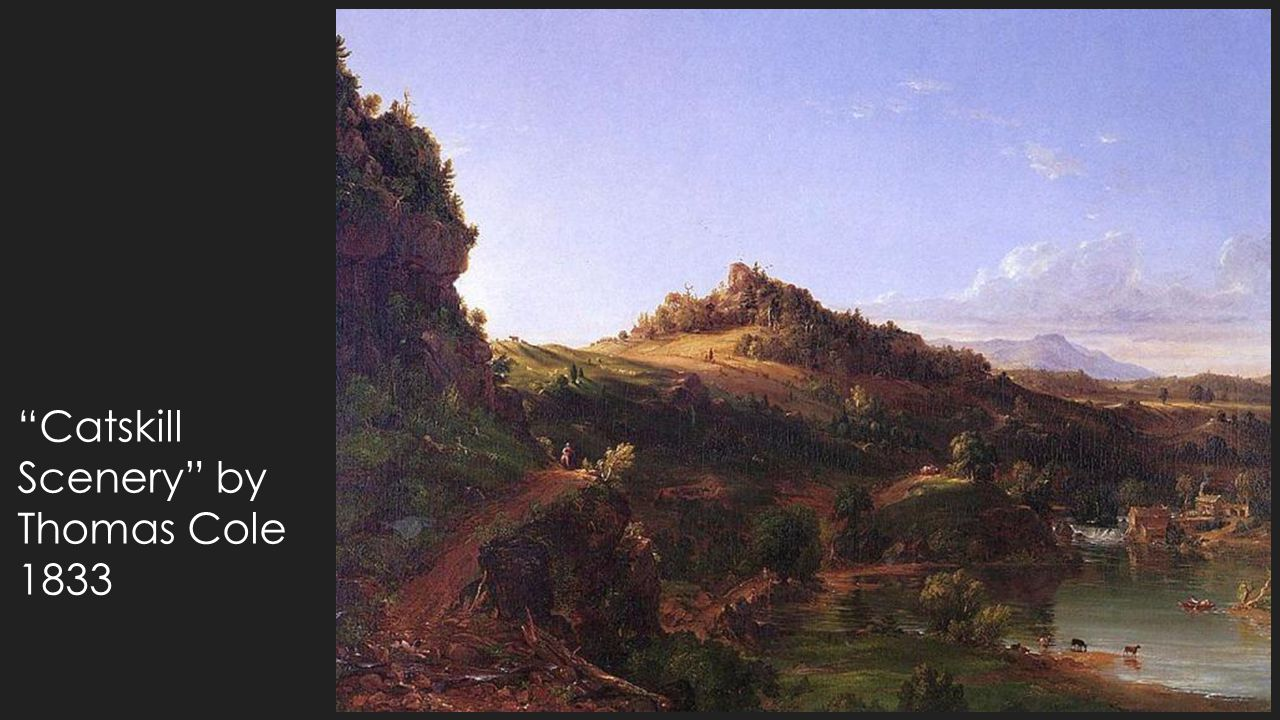 Catskill Scenery by Thomas Cole 1833