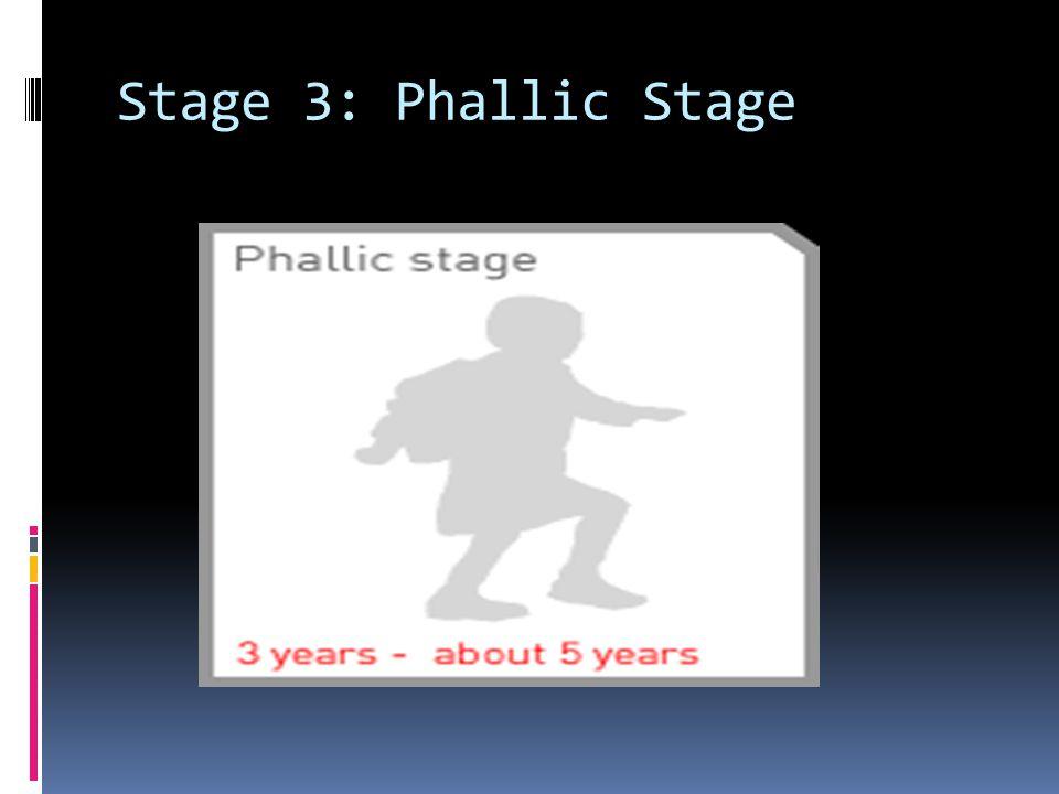 Stage 3: Phallic Stage