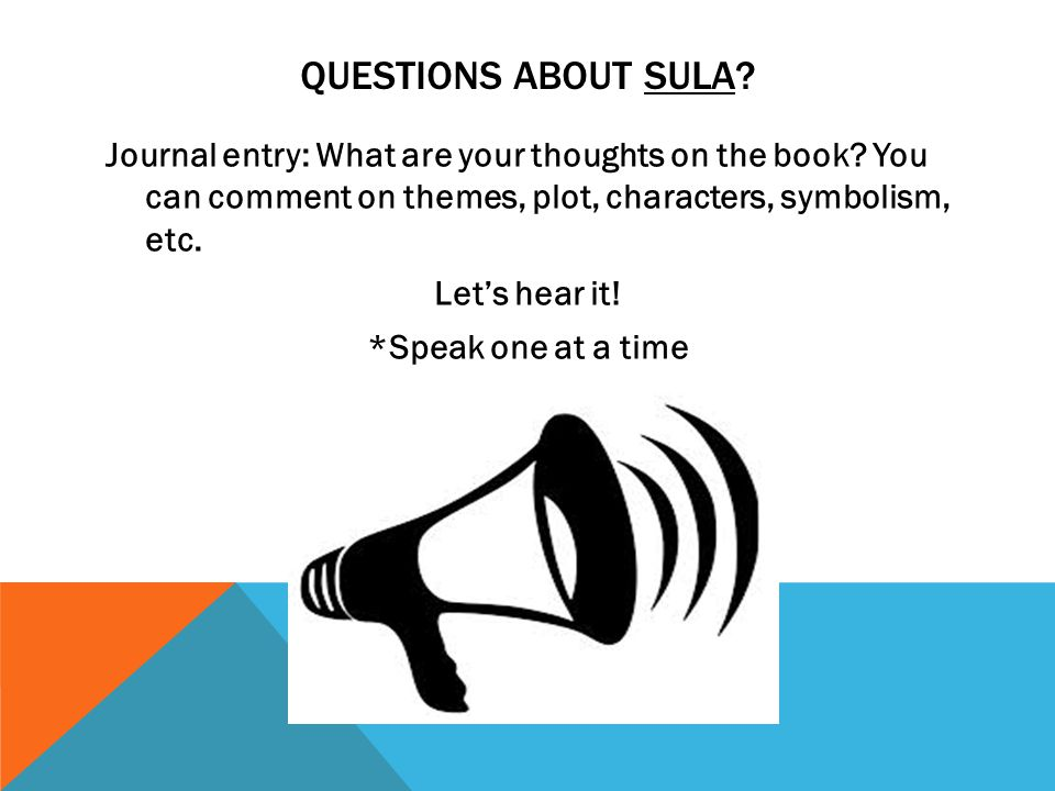 Questions about sula