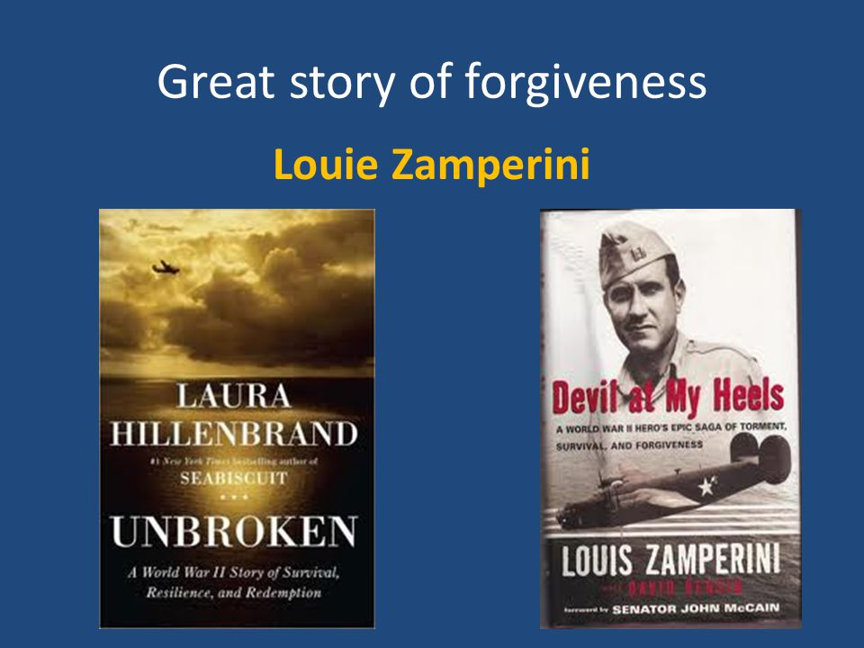 Great story of forgiveness