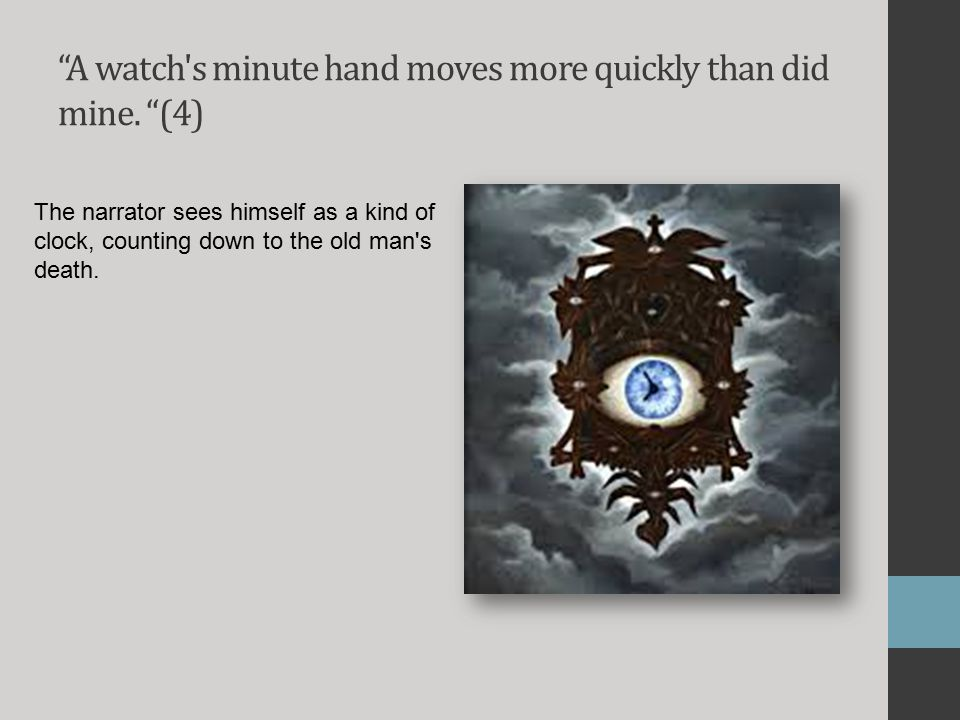 A watch s minute hand moves more quickly than did mine. (4)