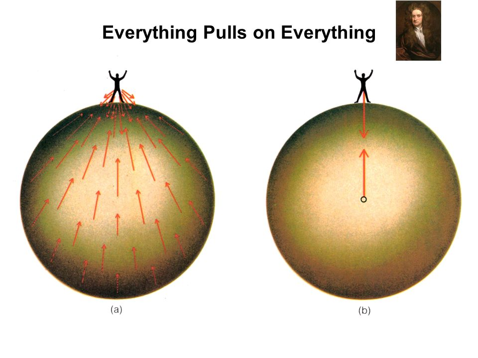Everything Pulls on Everything