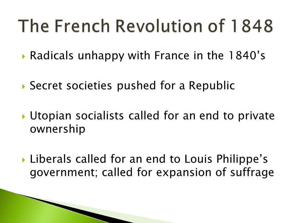 The French Revolution of 1848