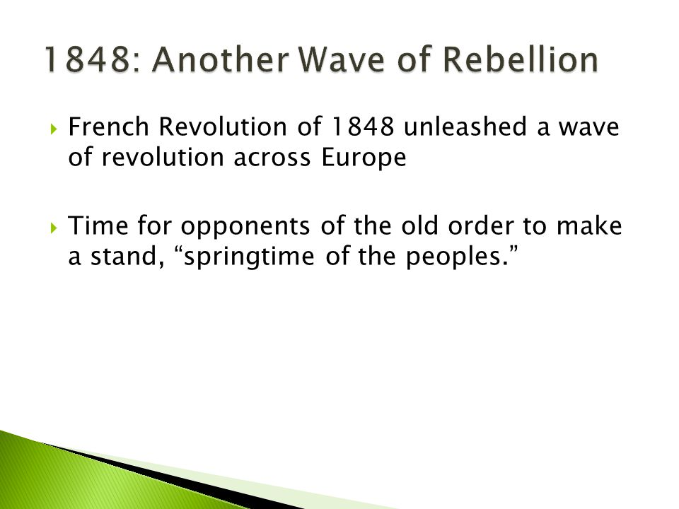 1848: Another Wave of Rebellion