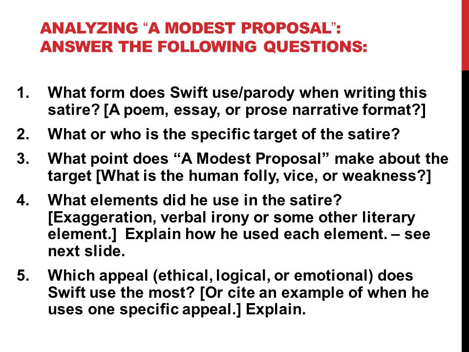 Thesis Persuasive Essay  How To Write Science Essay also English Class Essay A Modest Proposal Satire Essay  Coursework Example Essays About English Language