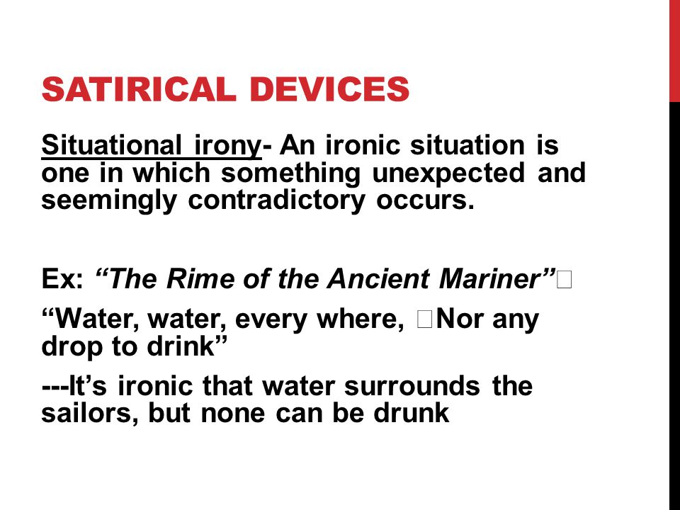 Satirical DEvices