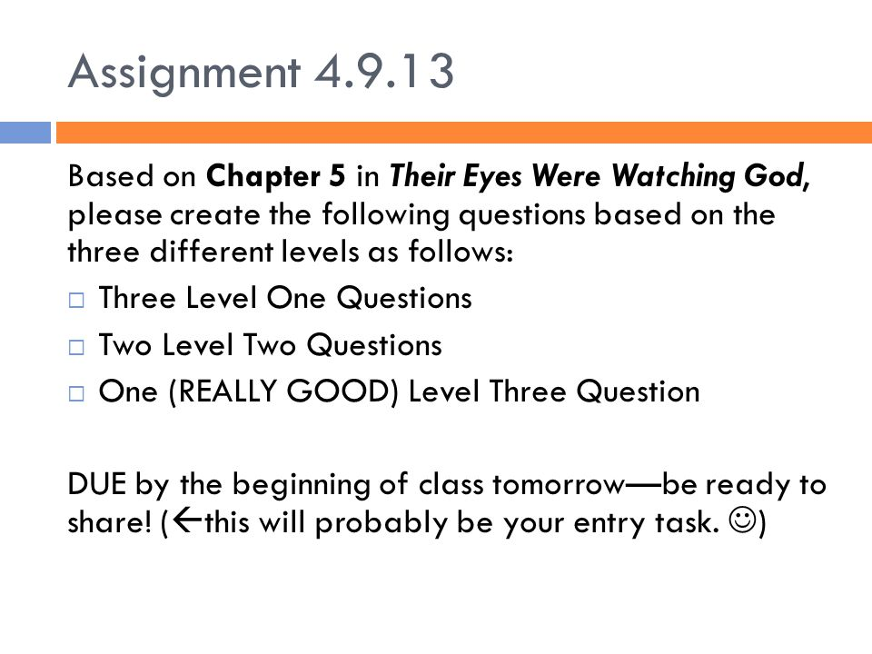 Assignment 4.9.13