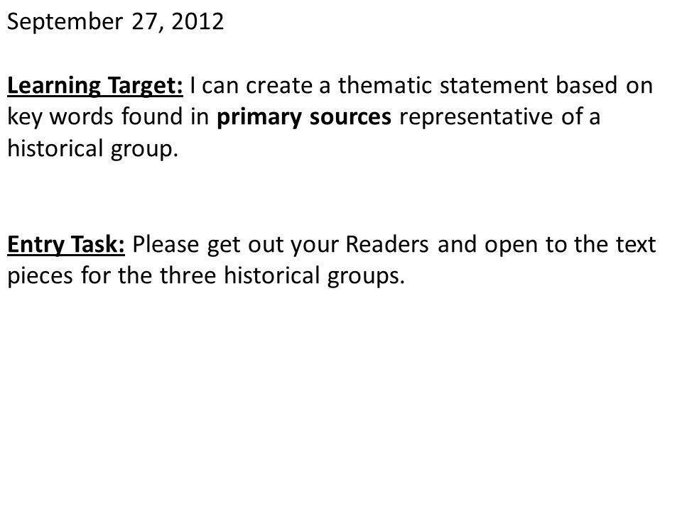 September 27, 2012