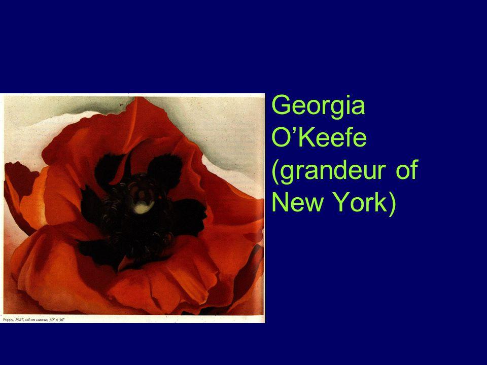 Georgia O'Keefe (grandeur of New York)