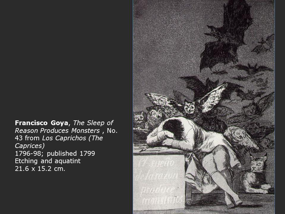 Francisco Goya, The Sleep of Reason Produces Monsters , No