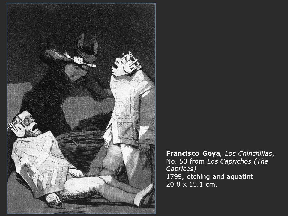 Francisco Goya, Los Chinchillas, No