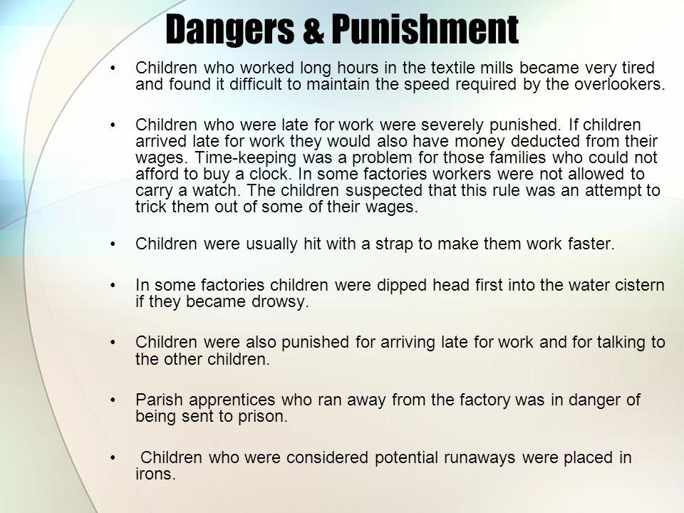 Dangers & Punishment