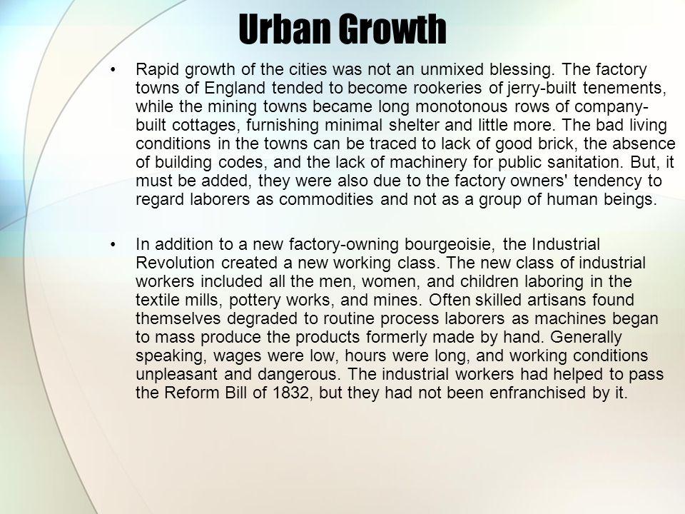 Urban Growth