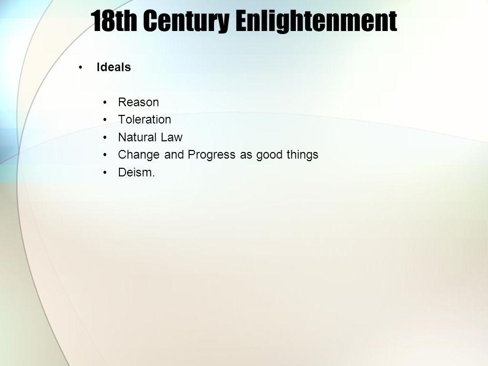 18th Century Enlightenment