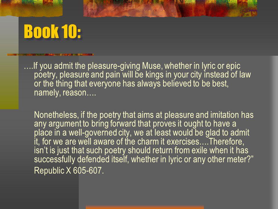Book 10: