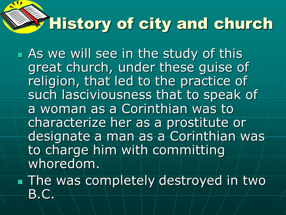 History of city and church
