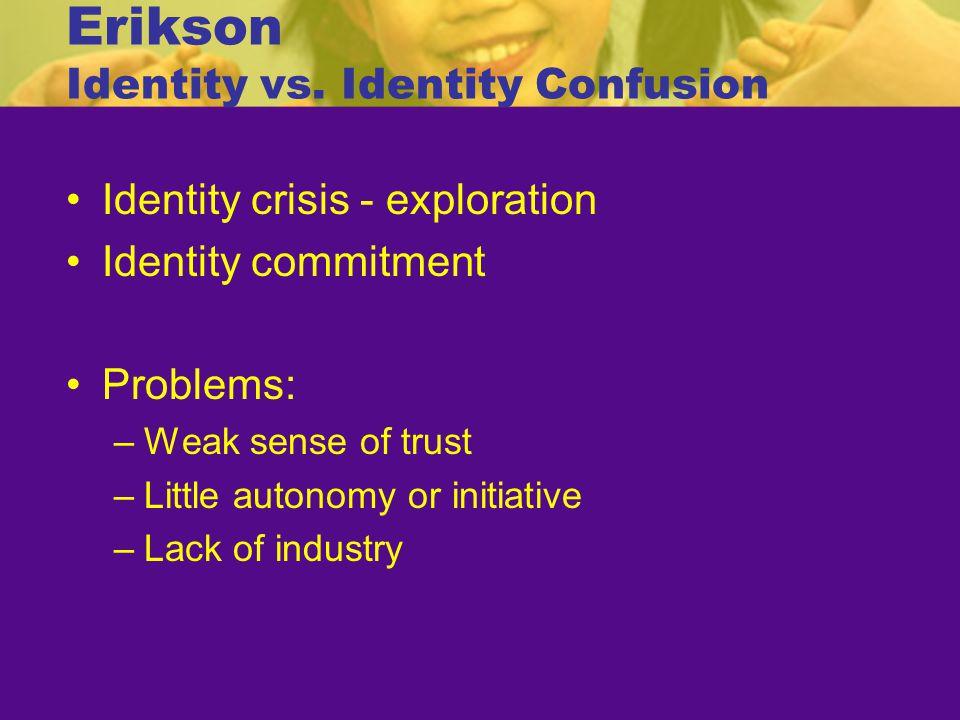 Erikson Identity vs. Identity Confusion