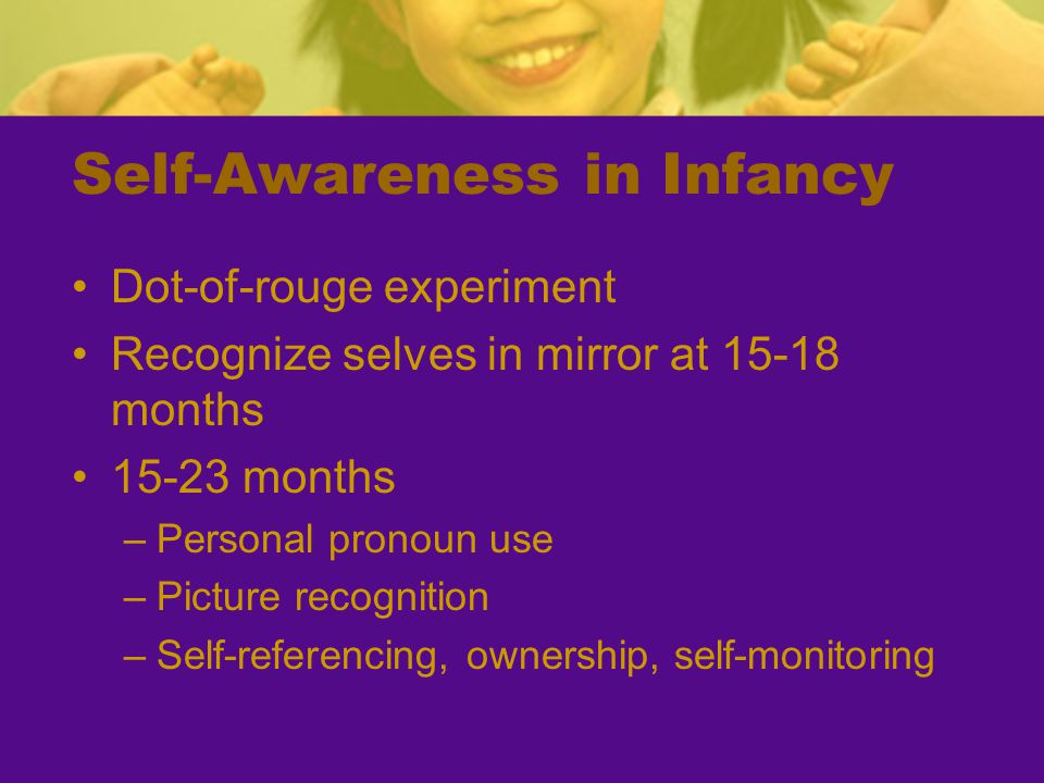 Self-Awareness in Infancy