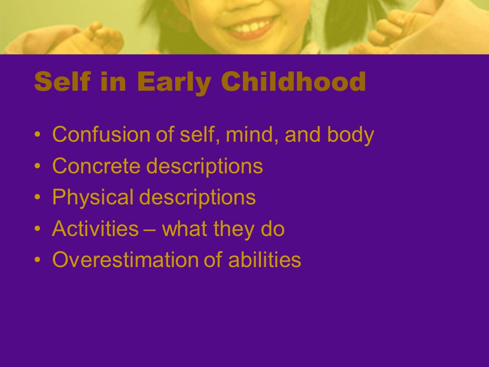 Self in Early Childhood