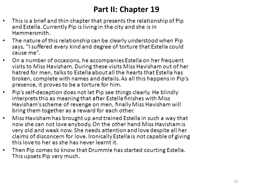 Part II: Chapter 19