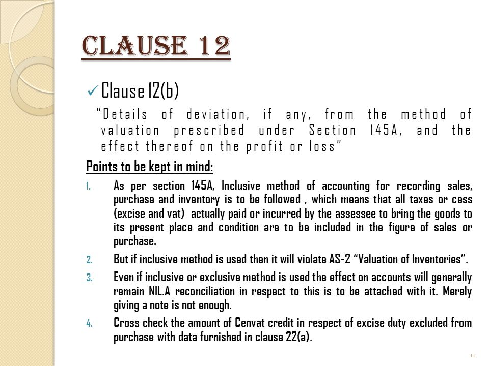 Clause 12 Clause 12(b)