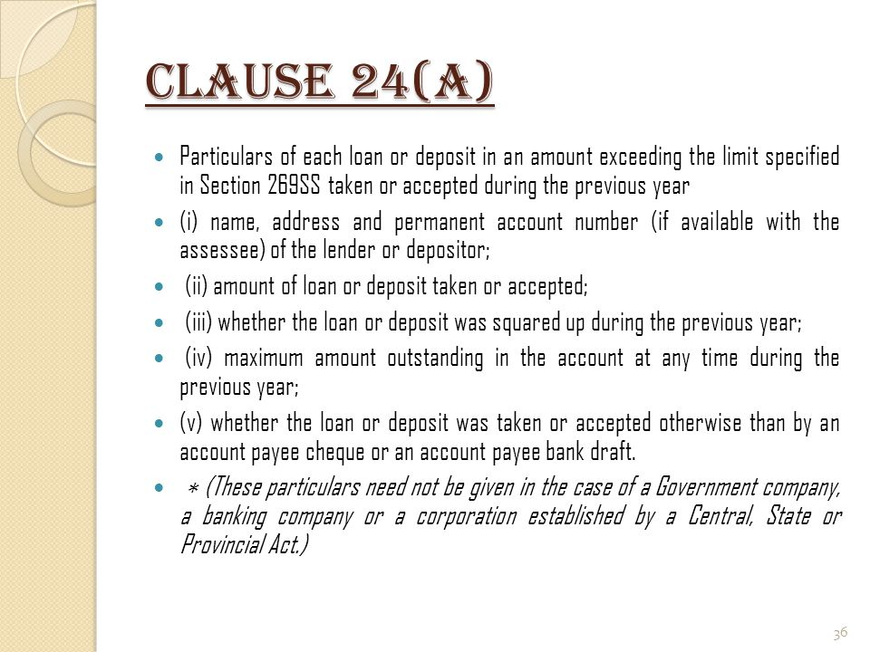 Clause 24(a)