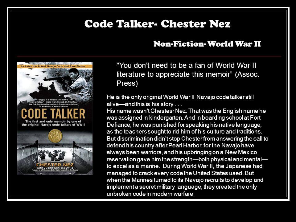 Code Talker- Chester Nez