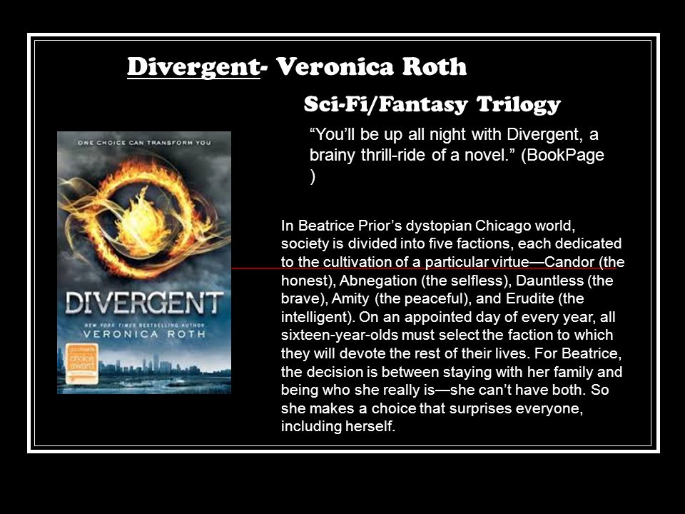 Divergent- Veronica Roth