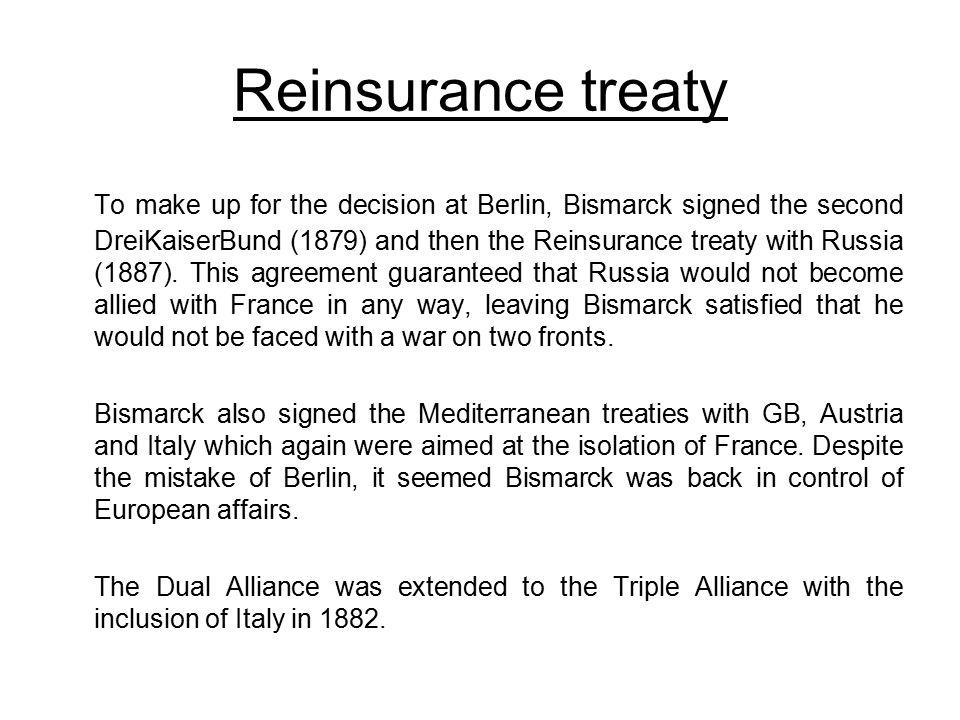 Reinsurance treaty