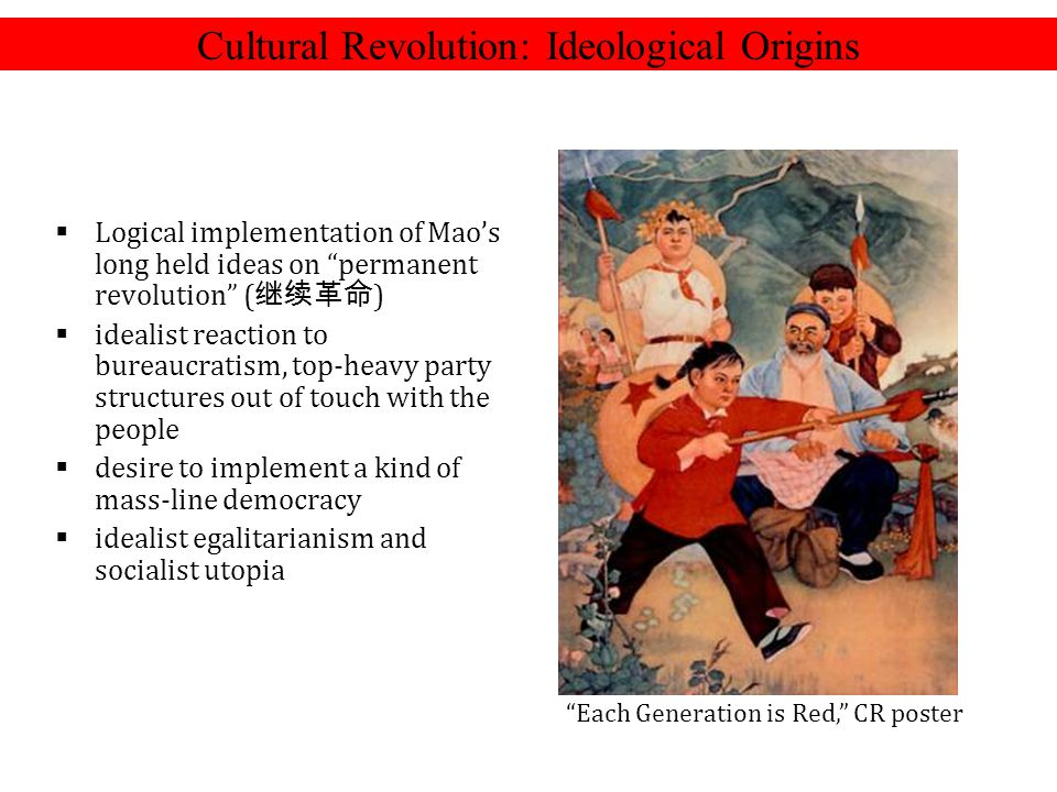 Cultural Revolution: Ideological Origins