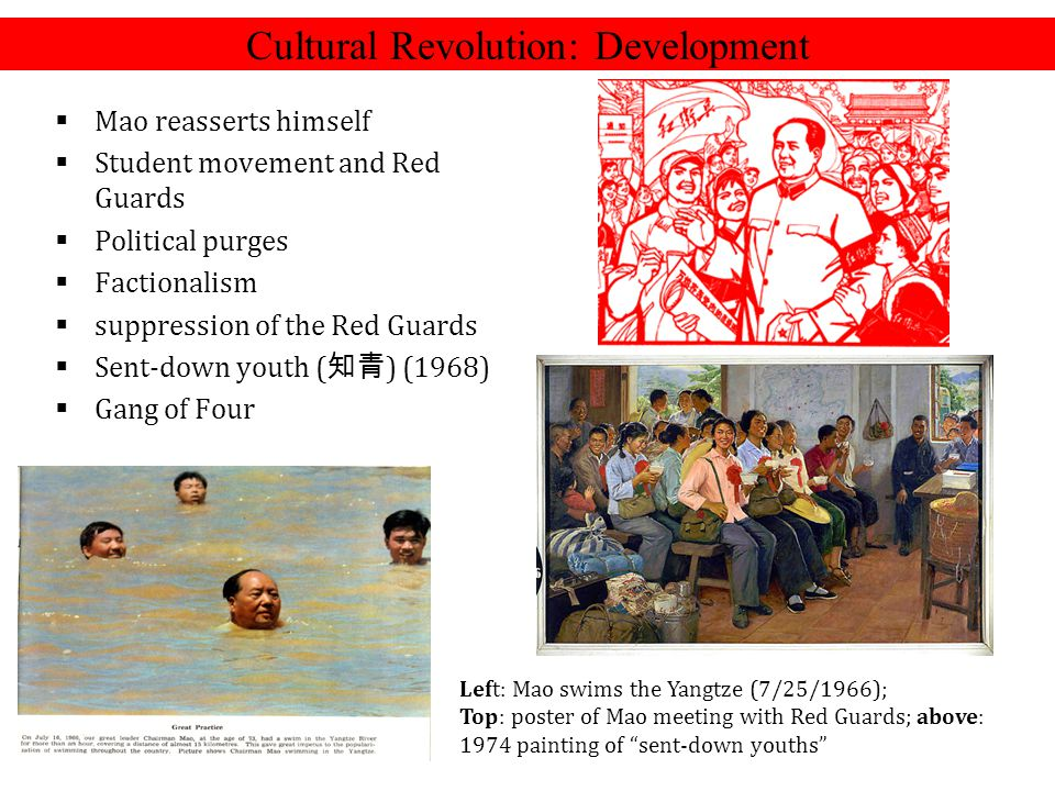 Cultural Revolution: Development