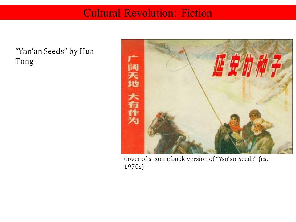 Cultural Revolution: Fiction