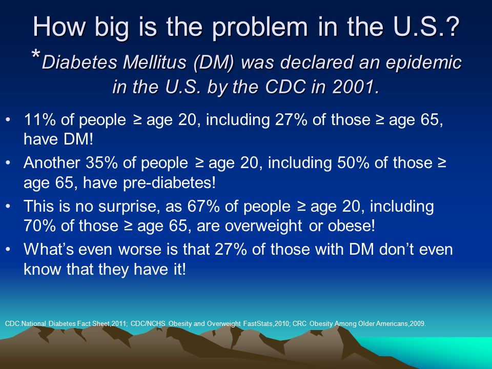 How big is the problem in the U. S