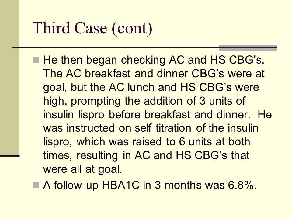 Third Case (cont)