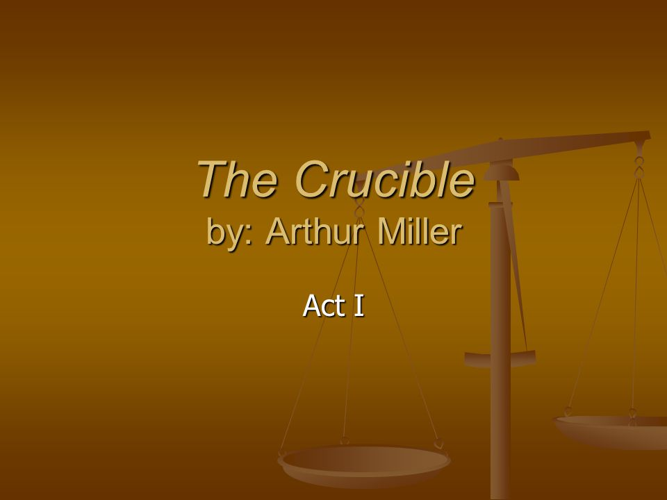the crucible literary devices As a literary device, theme is the central topic or idea explored in a text usually the theme of a work of literature can be stated in  (the crucible by arthur.