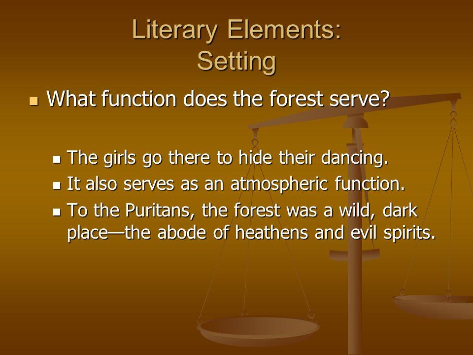 Literary Elements: Setting