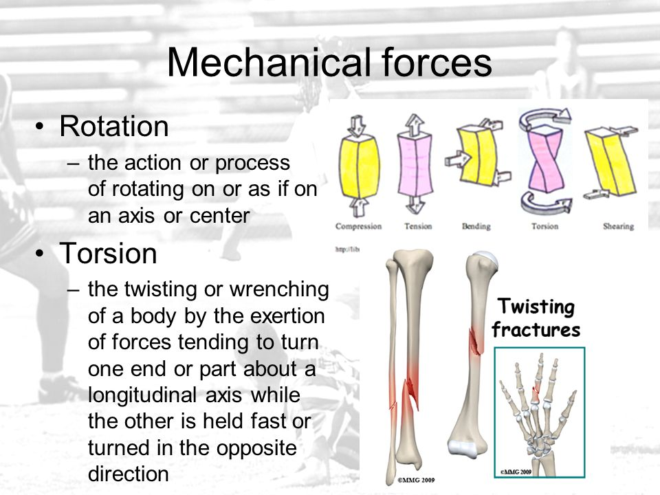 Mechanical forces Rotation Torsion