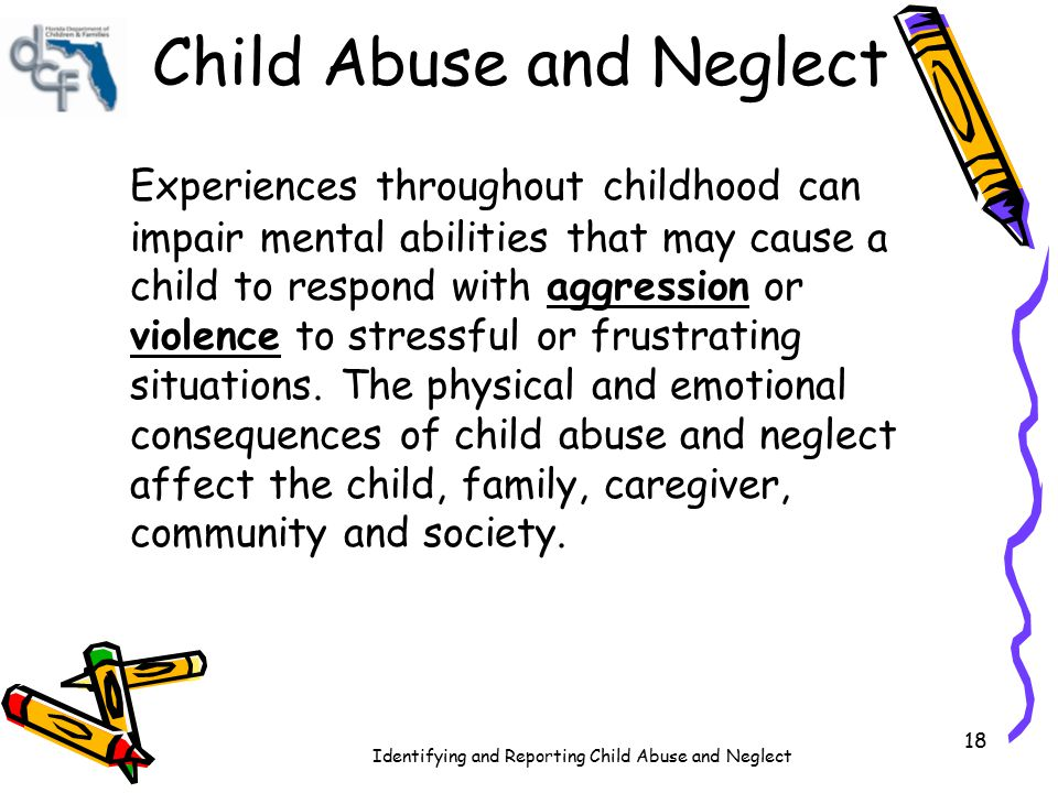 What Are The Causes And Consequences Of Child Neglect Essay