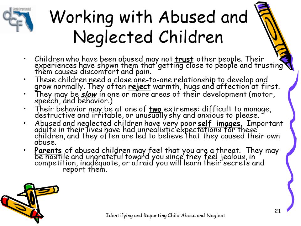 Working with Abused and Neglected Children