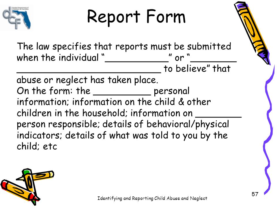 Report Form