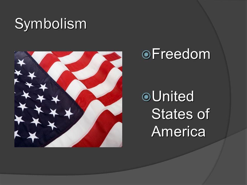 Symbolism Freedom United States of America 27