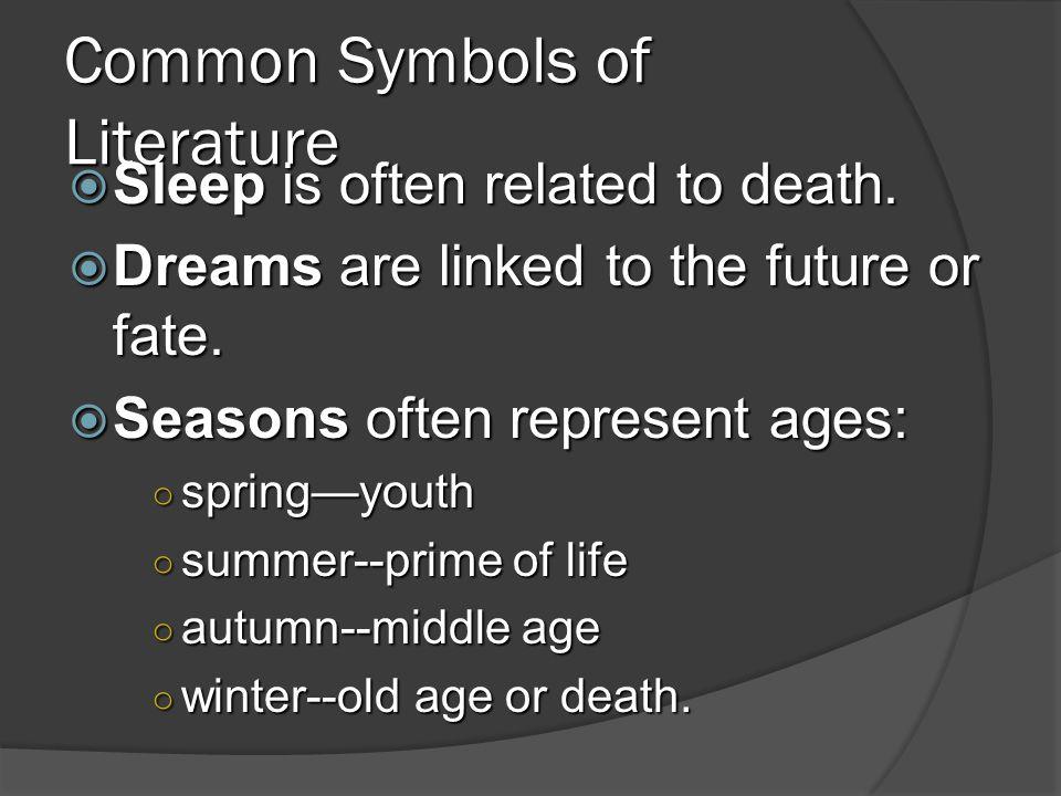 Common Symbols of Literature