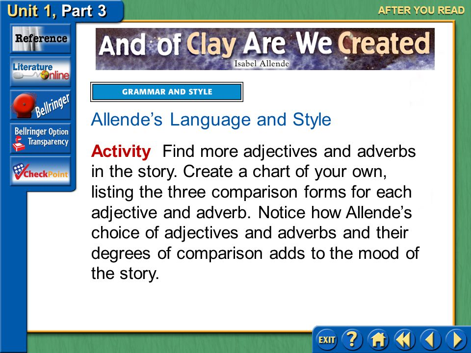 Allende's Language and Style