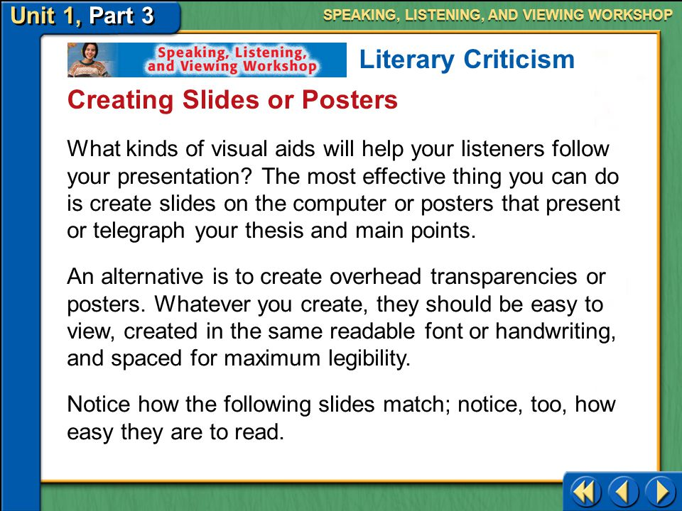 Creating Slides or Posters