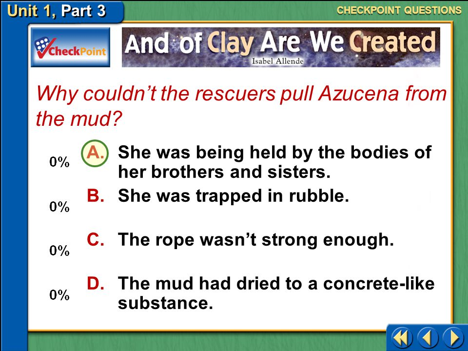 Why couldn't the rescuers pull Azucena from the mud