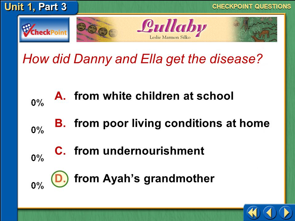 How did Danny and Ella get the disease